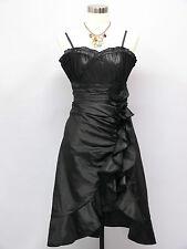 Cherlone Black Prom Ball Evening Bridesmaid Wedding Formal Gown Dress Size 16-18