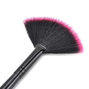 Fan-Shape-Makeup-Cosmetic-Brush-Tool-Blending-Highlighter-Contour-Face-Powder-SE