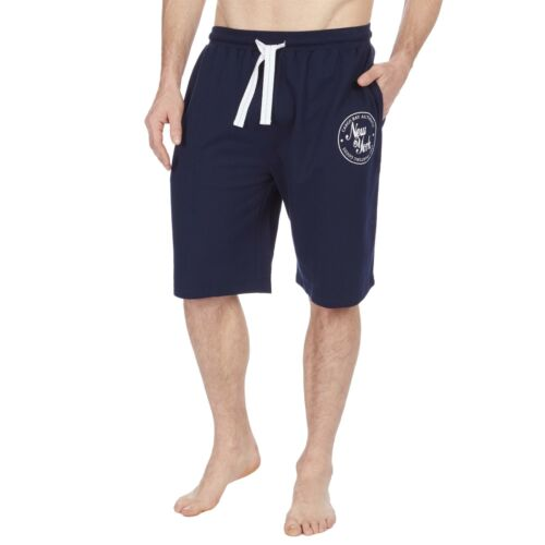 Pyjama Shorts Grey or Navy Cargo Bay Mens French Terry Lounge