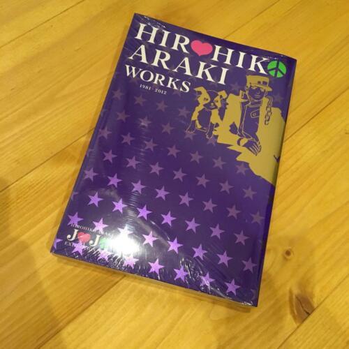 HIROHIKO ARAKI WORKS 1981-2012 Art Illustration Book JoJo/'s Bizarre Adventure
