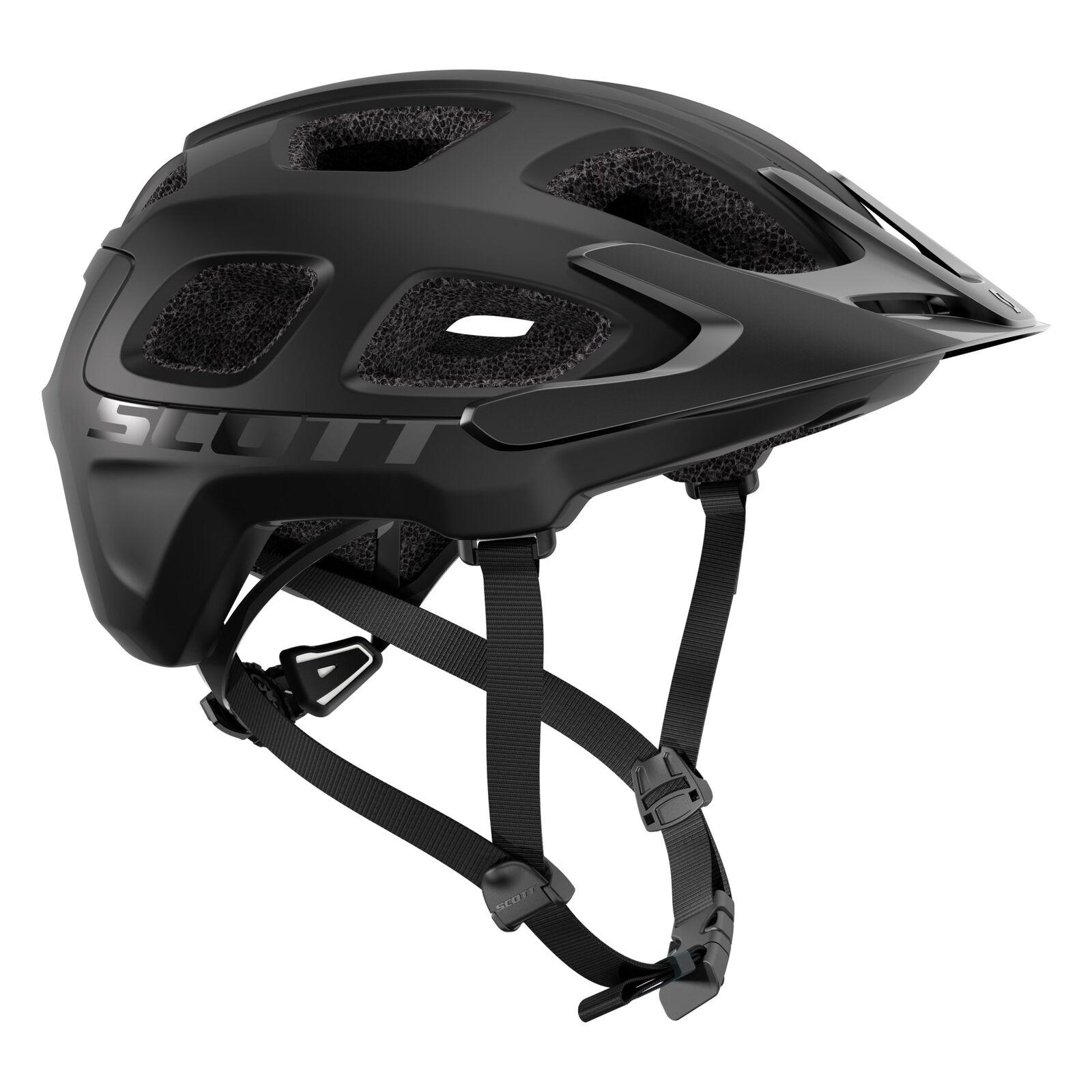 Scott Vivo MTB Vélo Casque noir Mat 2019