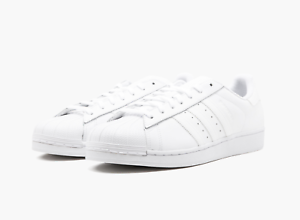 Adidas Superstar Foundation B27136 Triple White Men SZ 7.5 - 13