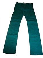 H & M tolle Jeans Hose Gr. 164 türkis-grün !!