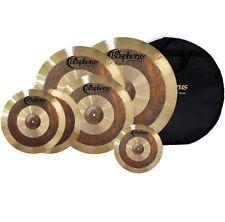 "Bosphorus Antique Serie Becken Set 20""/18""/16""/14"" + 10"" Splash + Cymbal Bag"