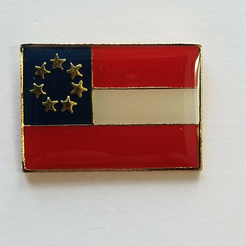 1st National Flag Lapel Hat Pin Tie Tac Stars and Bars Banner FAST US SHIPPING