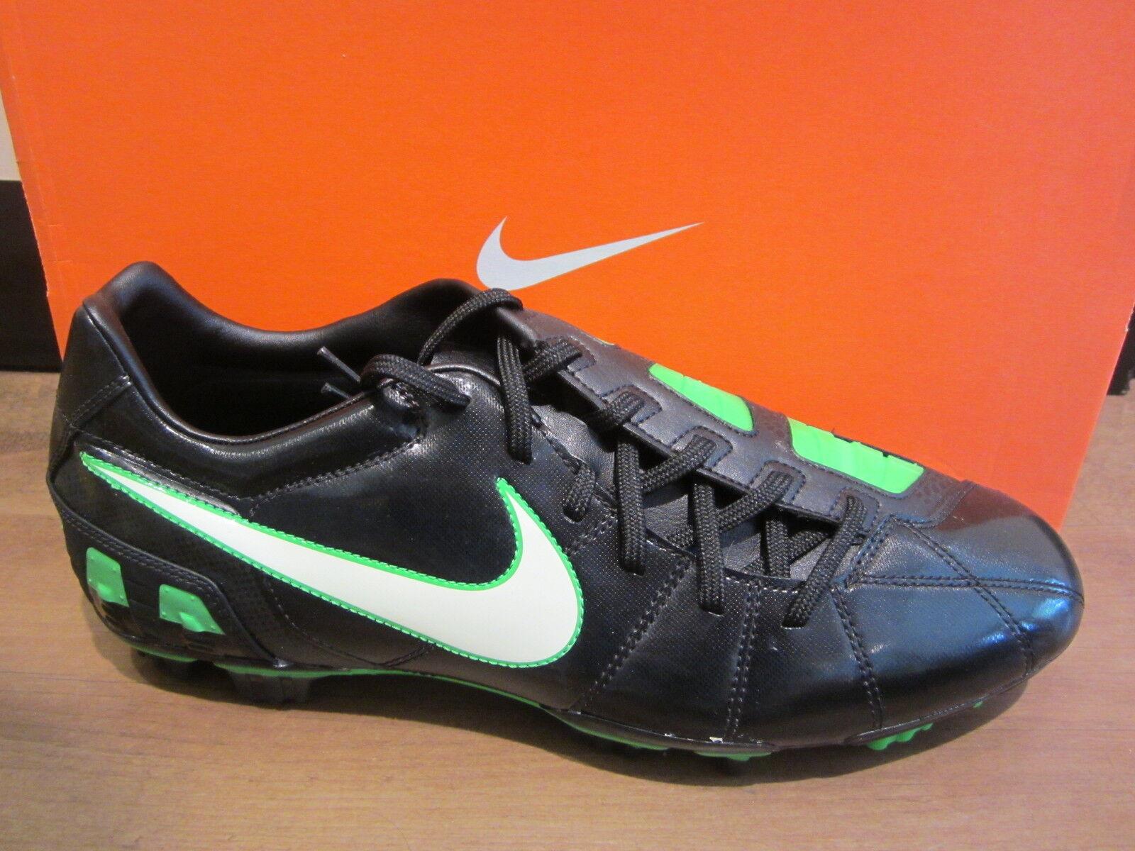 Nike Fußballschuh schwarz grün grün grün Nockenstollen NEU 398c3b