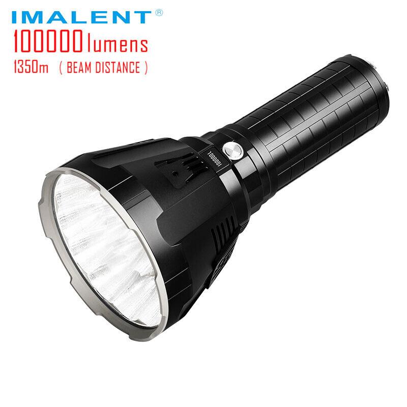 IMALENT MS18 Super helle Taschenlampe 100.000 LM wiederaufladbare Taschenlampe