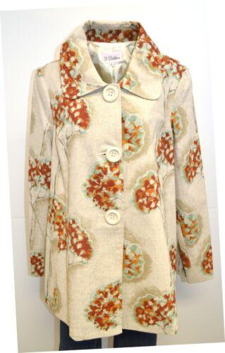 1895 maison fait gilet tissu géranium 3 veste la l femmes usa à décor Manteau wqZFUfzOq