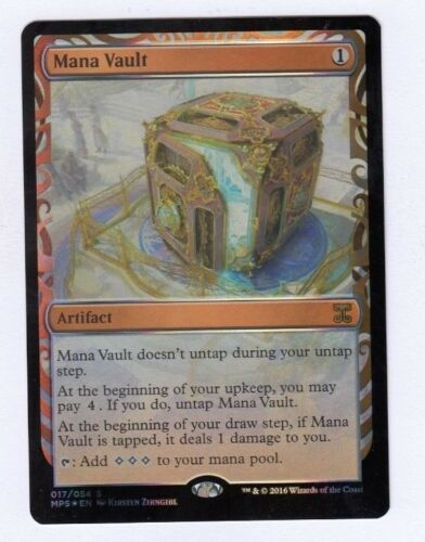 MTG Magic the Gathering Mana Vault Foil Masterpiece Inventions
