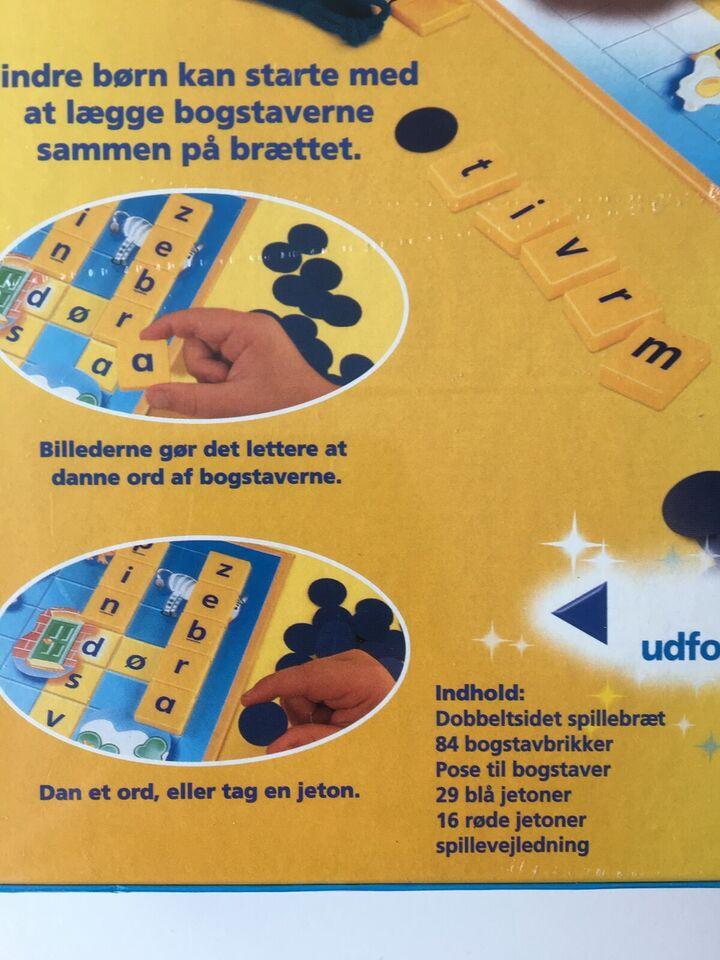 Junior scrabble, Børnespil/familiespil/brætspil,