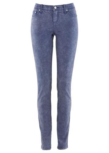 M70-942724 40 Zauberhafte Stretch Jeans mit Waschung in Indigo Blau Gr