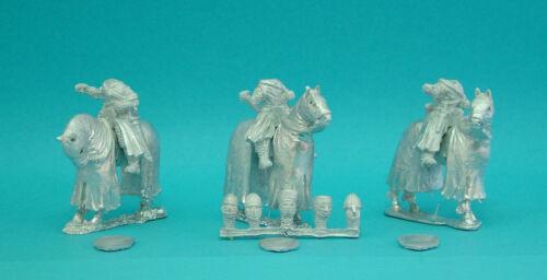 28mm Curteys 6 x C12th Medieval Crusades Knights13 lion Rampant Saga unpainted