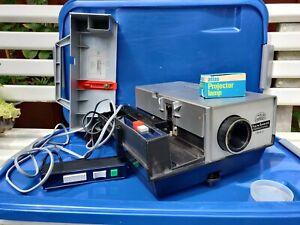 Braun-Paximat-International-1850-made-in-West-Germany-35mm-slide-projector-BOXED