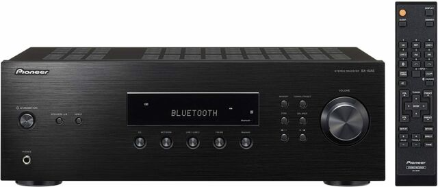 Pioneer SX-10AE Home Audio Stereo Receiver with Bluetooth Wireless Technology, B