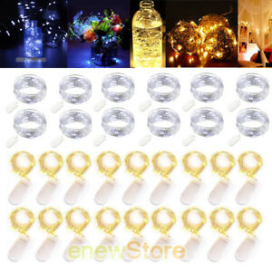 Xmas-Decor-Battery-Operated-Mini-LED-Copper-Wire-String-Fairy-Lights-2m-20-LEDs