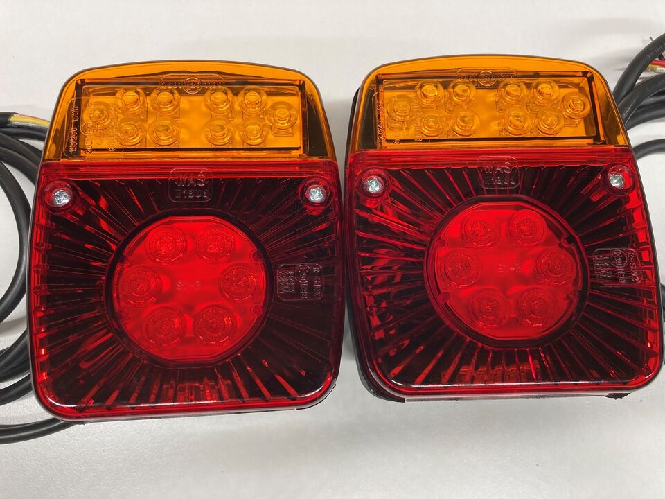 LED trailerbaglygtesæt 12V/24V