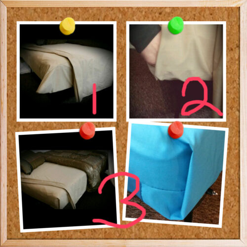 """Won/'t Pop Off Flex Top King Cal King Fitted Sheet Brown Beige Gray 10 to 15/"""""""