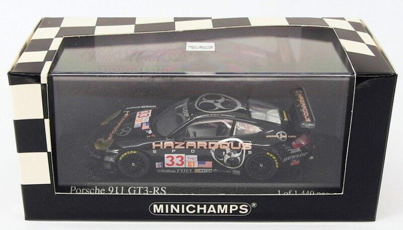 Minichamps 1 43 scale model car 400 036933-PORSCHE 911 gt3 RS Sebring 12h 2003