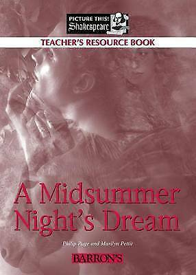 1 of 1 - A Midsummer Night's Dream (Teacher's Resource Book) (Picture This! Shakespeare)