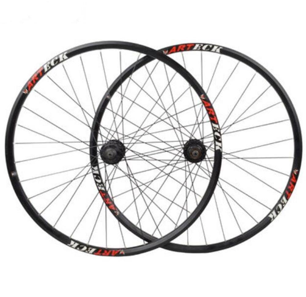 29   27.5  MTB Bike Wheelset Wheel Set Rims Disc Brake 8 9 10 Speed  W QR 32H