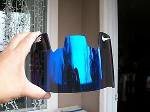 NEW NIKE BLUE MIRROR TINTED FOOTBALL HELMET VISOR ... - photo#4