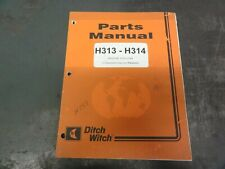 Ditch Witch H313 H314 Attachments For 3700 Parts Manual 053 072