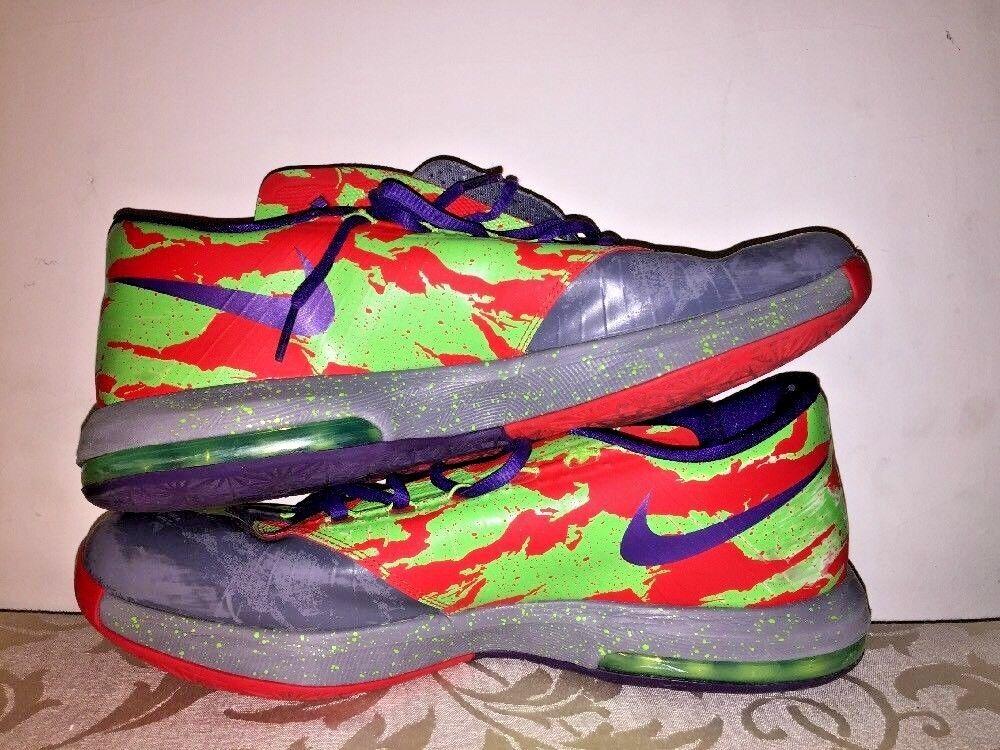 NIKE KD Kevin Durant 6 VI Eneregy 599424-008 jordan Graffiti Mens Shoes Sz 11.5