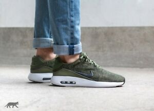 Details about Nike Air Max Modern Flyknit Rough Green Black White Uk Size 6 876066 300