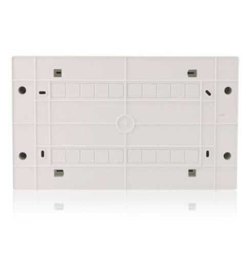 Sicherungskasten Aufputz-Verteiler 1-reihig 18TE IP40 weiße Tür