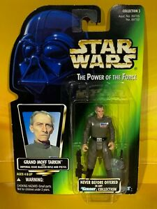 Star Wars - Power of the Force - Grand Moff Tarkin (Green Picture Card)