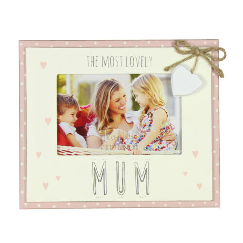Love Life MDF Double Layer 6/'x4/' Photo Frame Lovely Mum