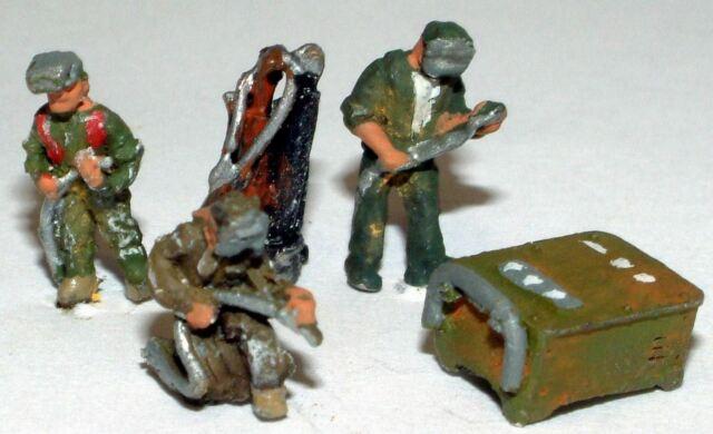 Welding People A91p PAINTED N Gauge Scale Langley Models People Figures 1/148
