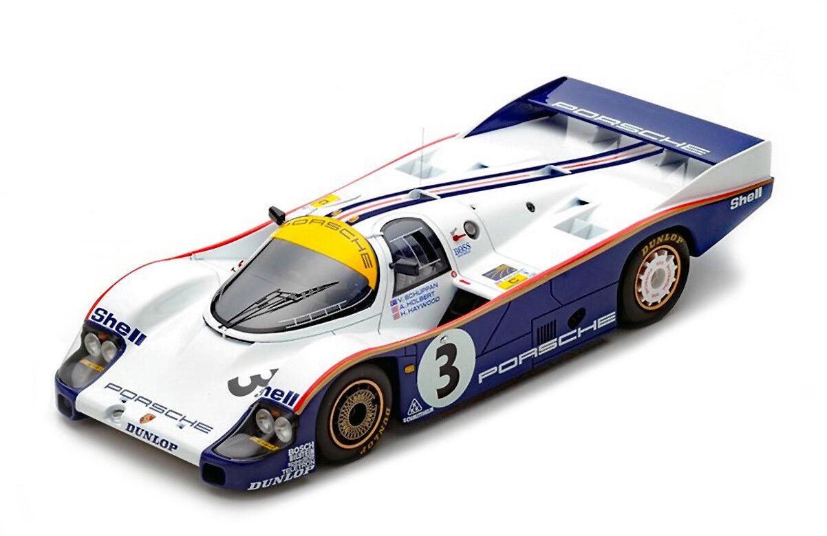 Porsche 956 ganadores 1983 edición limitada de 24 horas de Mans 1 18 modelo de coche por Spark 18LM83