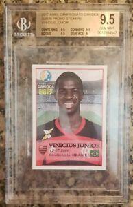 2017-Vinicius-Junior-Flamengo-Abril-Campeanato-Rookie-RC-BGS-9-5-Gem-Mint-4547