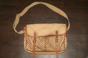 friställa Värme Iver  Vintage Liddesdale (Barbour) Game , fly fishing tackle bag #2233 ...