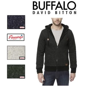 MEN-039-S-BUFFALO-DAVID-BITTON-SHERPA-LINED-FULL-ZIP-HOODIE-JACKET-VARIETY-E13