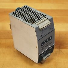 Sola Sdn 4 24 100lp 24vdc 38amp Power Supply Used