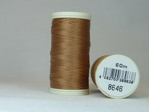 8646 Beading Thread 60m Coats Nylbond Colour No