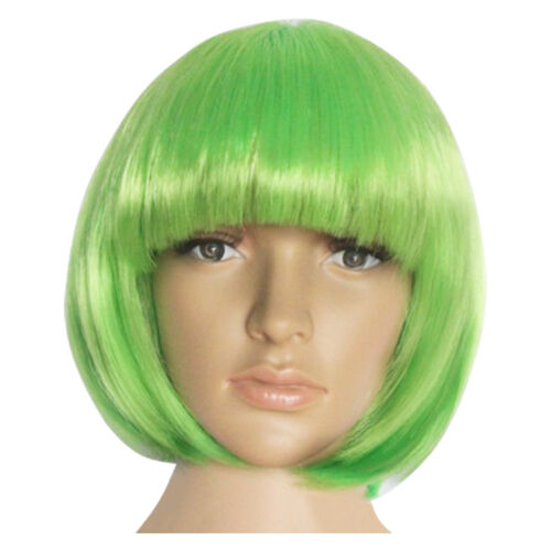 14 Colors Fashion Women Short Straight Hair Full Wigs Cosplay Party Bob Hair Wig