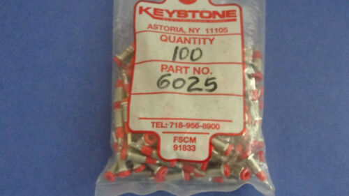 KEYSTONE QTY 10 NEW Metal Clad Tip Jack-Red Details about  /6025