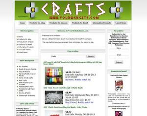 ART-amp-CRAFT-FULLY-AUTOMATED-AFFILIATE-STORE-BUSINESS-WEBSITE-FOR-SALE