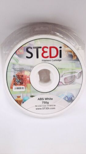 VATINC ST3Di WHITE ABS 3D FILAMENT CARTRIDGE MODELSMART PRO 200 750 ST-6012-00