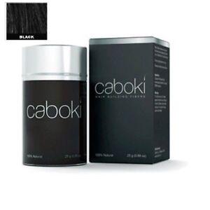 Caboki-Colore-Nero-Ricostruzione-Dei-Capelli-Fibra-Perdita-Correttore-25g-in-Old