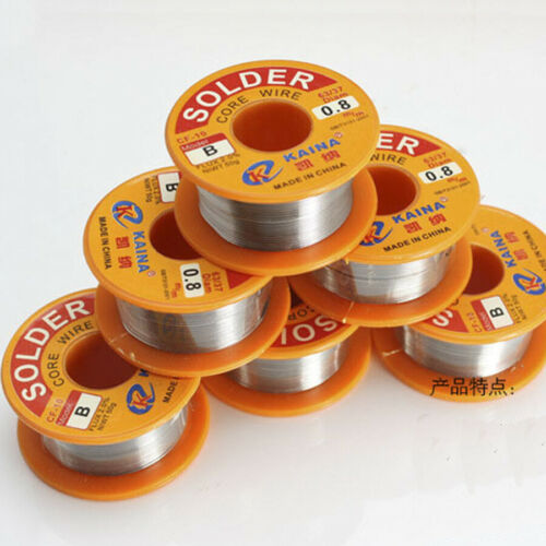 Welding Line Lead Wire Hot Solder Rosin Core Soldering Tin Reel Flux 0.8mm 63//37
