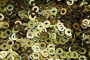 1500-Hardened-1-4-Flat-Washers-F436-SAE-Grade-8-Yellow-Zinc-Plated-Thru-Hard
