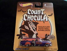 HW HOT WHEELS 2014 GENERAL MILLS COUNT CHOCULA '59 CHEVY DELIVERY HOTWHEELS VHTF