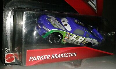 Original Disney Cars 3 Cast Parker Brakeston № 68 1:55 .neu & Ovp Gesundheit Effektiv StäRken Von Mattel
