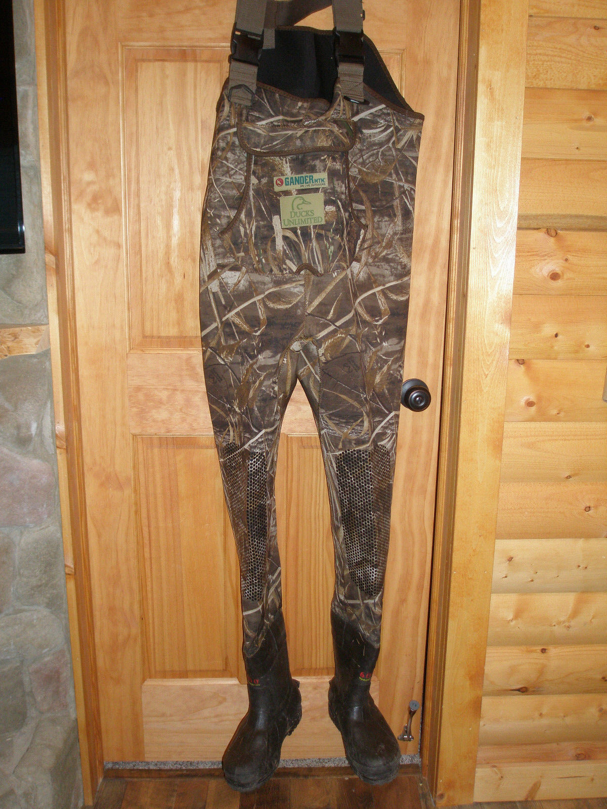 Gander Mountain MAX-5 chasse pêche Waders Taille 8 3.5 mm 600 g Thinsulate