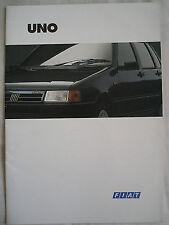 Fiat Uno range brochure Oct 1994