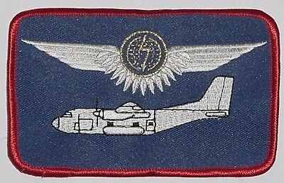 Patch Aufnäher Namensschild Transall C-160 Besatzungsangehöriger Gold ...A5651